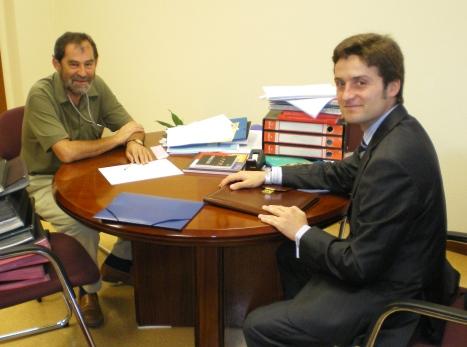 Decano del COIIPA y Vicerrector de la Universidad de Oviedo