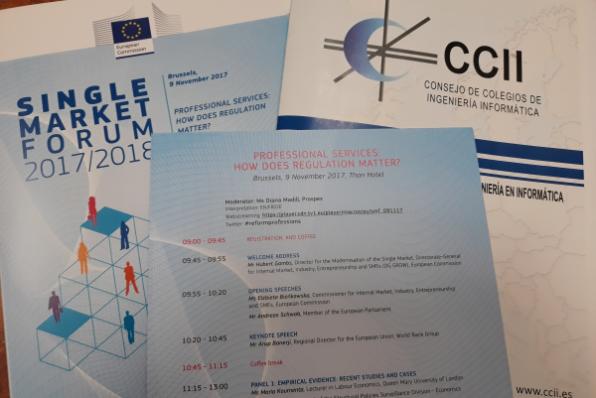 Conferencia UE #ReformProfessions