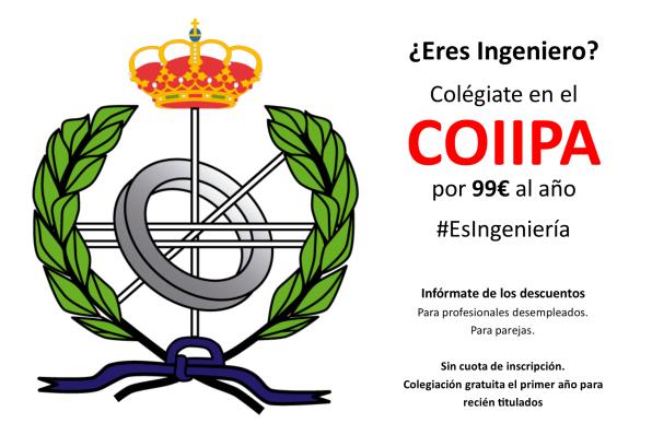 Colégiate en COIIPA.