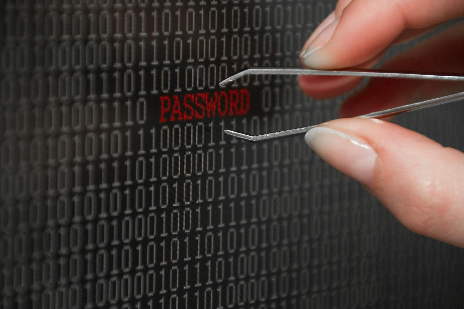 Foto: capturando una password