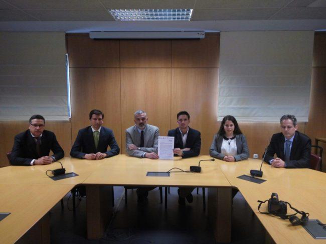 Reunión de nuestros representantes. #InformáticaSoluciónYA
