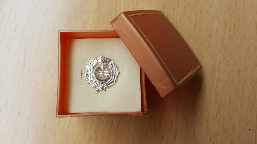 Pin insignia COIIPA 3