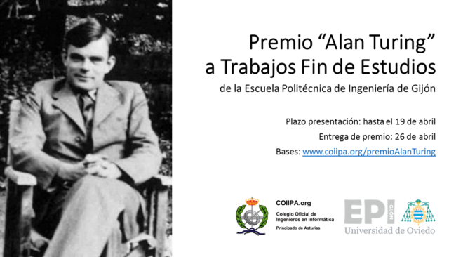 Cartel Premio Alan Turing COIIPA EPI