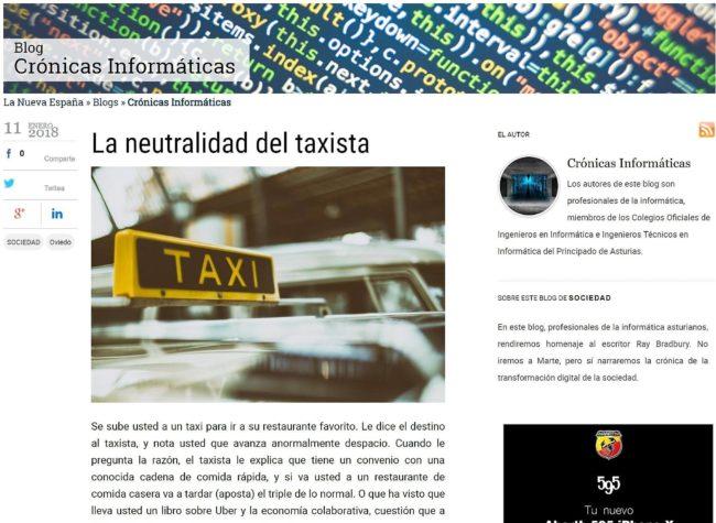 Blog Crónicas Informáticas