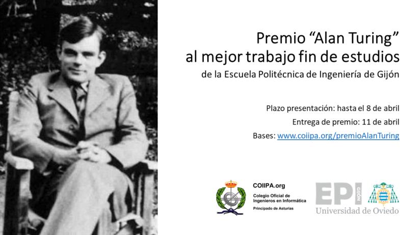Cartel Premio Alan Turing 2019